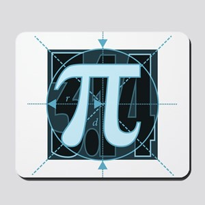 Pi Sign Drawing Mousepad